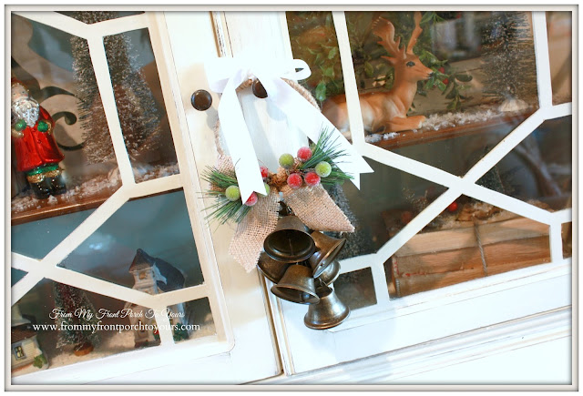 Christmas Bell Ornament-Farmhouse Christmas-A Merry little Christmas- From My Front Porch To Yours