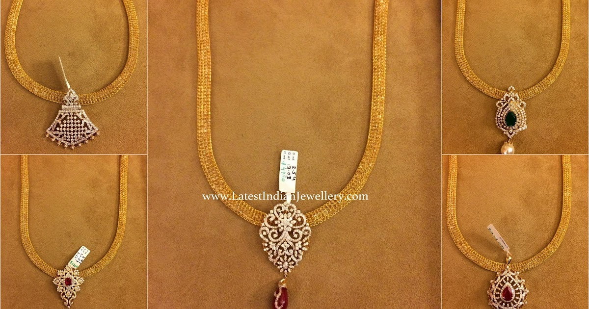 Collection Of Latest Diamond Pendant Designs