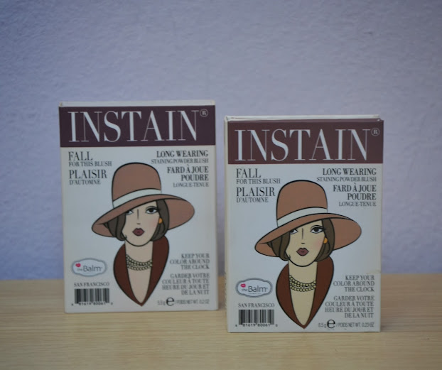 Review: The Balm Instain Blush in Pinstripe