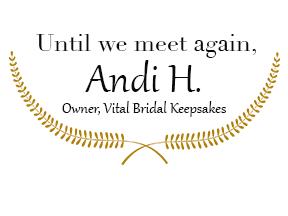 Vital Bridal Keepsakes Image