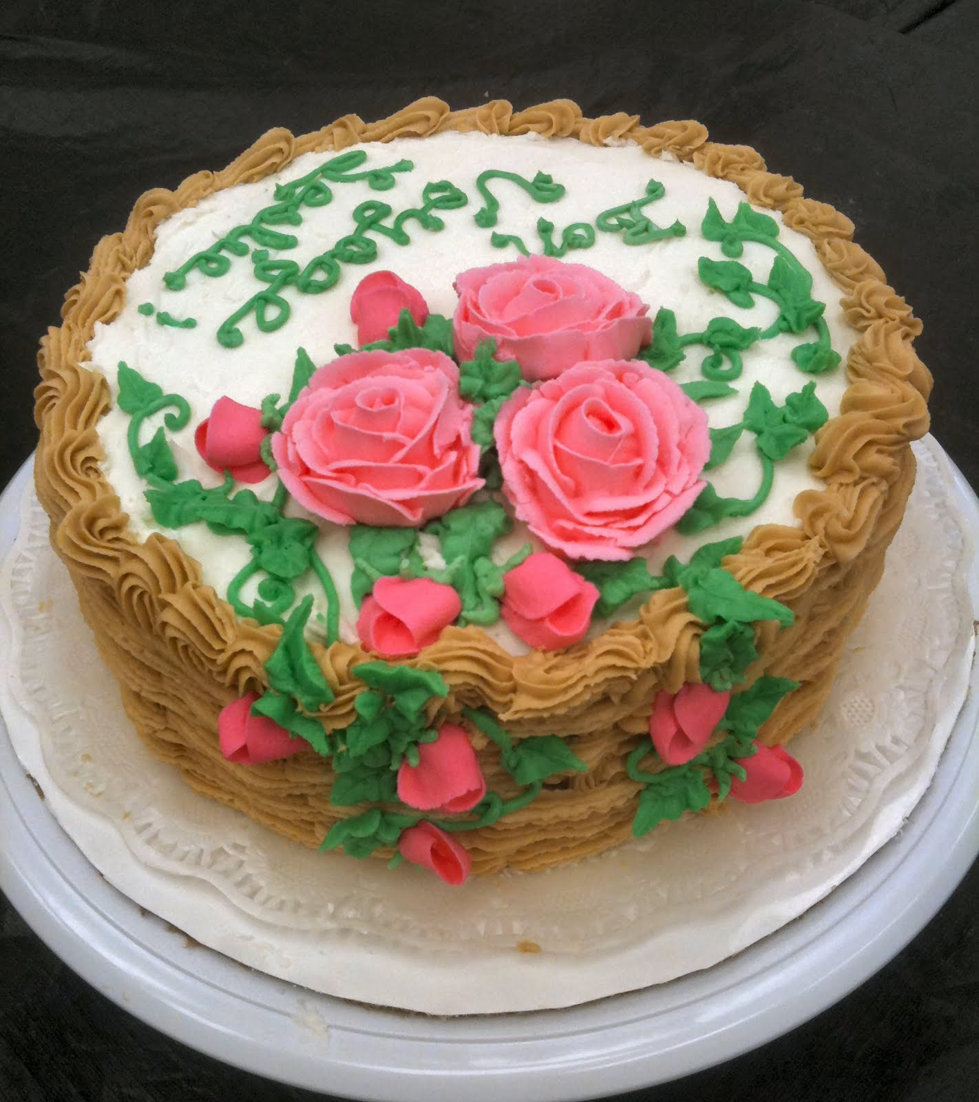 Cake Images Sonia : Cake Decorating by Sonia: June 2011 - Course 2 Flowers ...