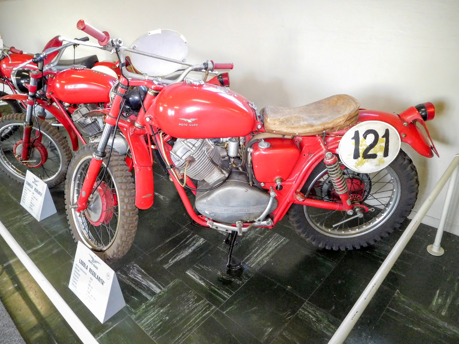 Tigho NYDucati: 1959 Moto Guzzi Lodola Regolarita
