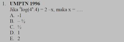 Rumus Cepat Matematika Logaritma