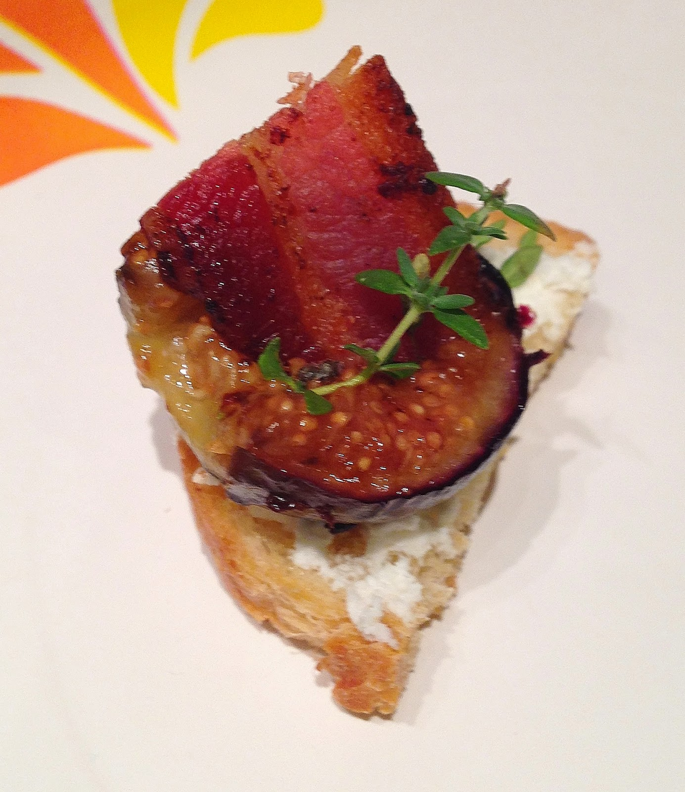 Fig, Bacon, and Goat Cheese Crostini | Boys and Beets | Farm Fresh ...