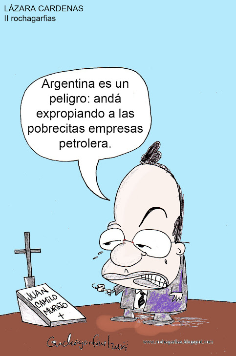 UN EJEMPLO: ARGENTINA NACIONALIZA PETROLEOS.