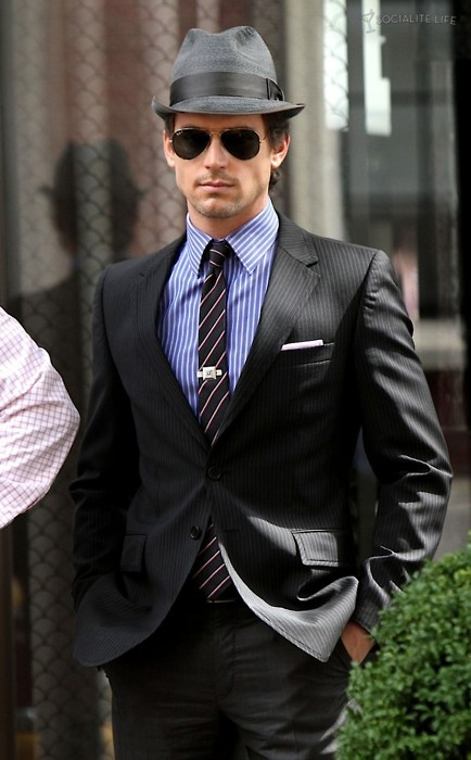 Style Code Mens Fashion Inspiration White Collar Show Neal Caffrey