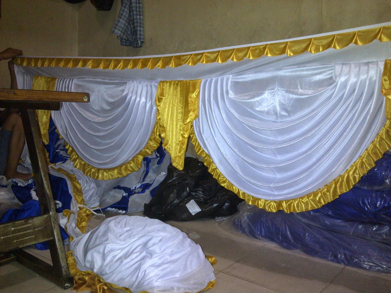 aksesoris tenda | dekorasi tenda murah