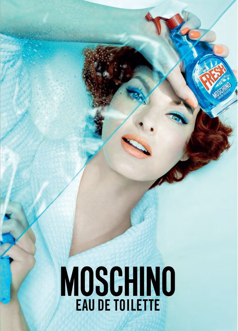 Eniwhere Fashion - News on Fashion - Moschino Fresh & Linda Evangelista