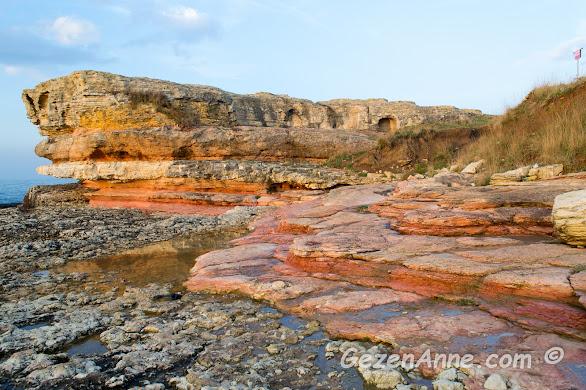 muhteşem yapılı Pembe Kayalar, Kefken Kandıra Kocaeli