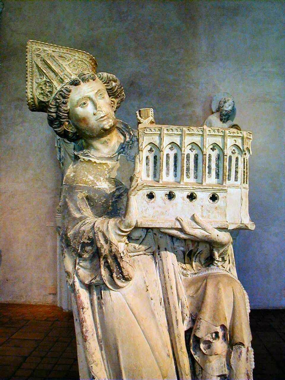 Dom Jean Tissendier, bispo de Rieux.  Musée des Augustins, Toulouse, França.