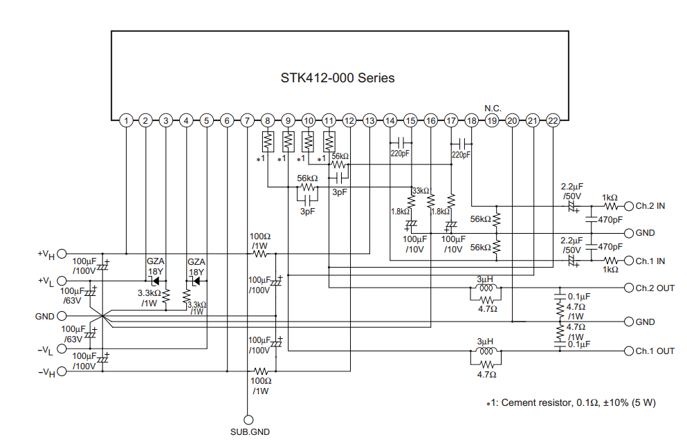 43331 Power   Under Development 36 also Onkyo Ht R960 71 Channel Htr Circuit in addition Pulse Signal Generator74LS10 74LS00 Circuit furthermore 165VHID M  half bridge driver module in addition R36 philips 32b 2. on audio amplifier circuit diagram