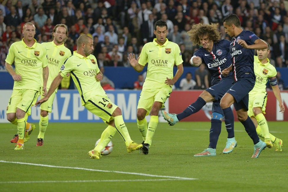 PSG-FC BARCELONA CHAMPIONS LEAGUE