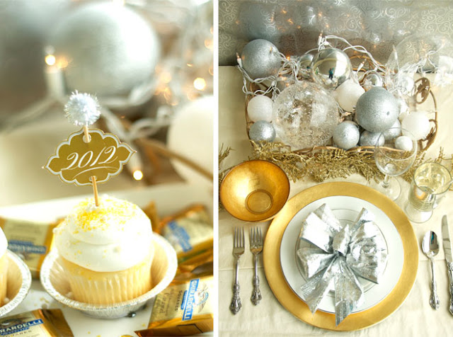 New Year's Eve Party Ideas by Love the Day on KarasPartyIdeas.com