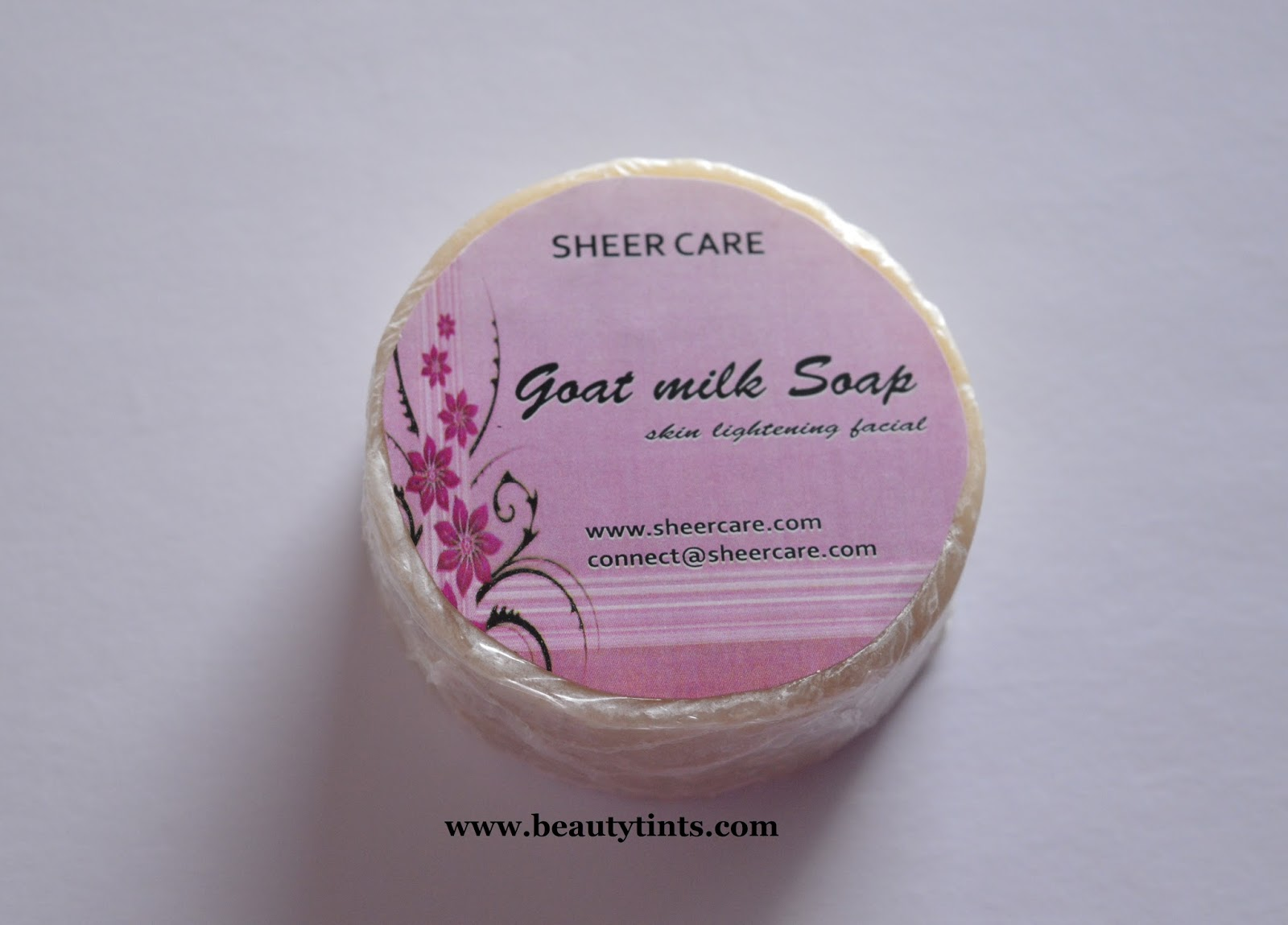 Review of goats milk facial soap