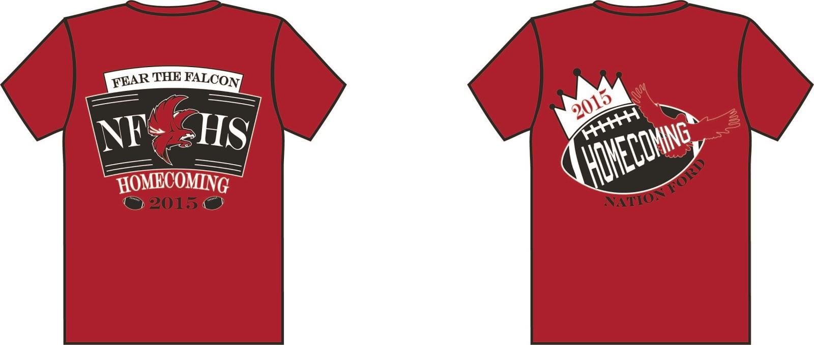 Digital Art Design 2015 Homecoming Shirt Designs