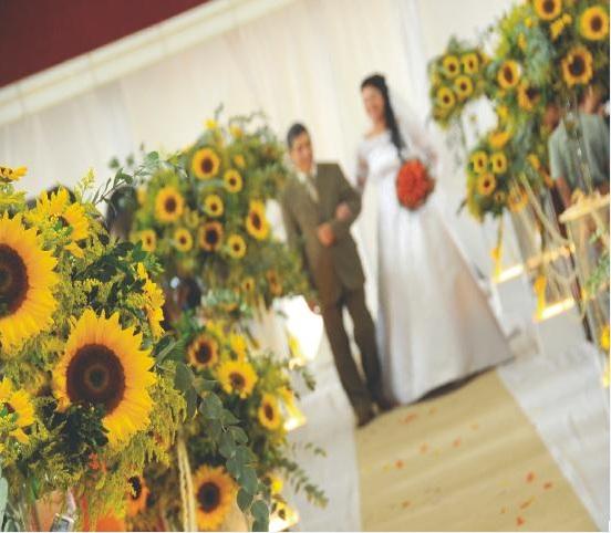 MelleM Decorações~ Decoracao Casamento Girassol