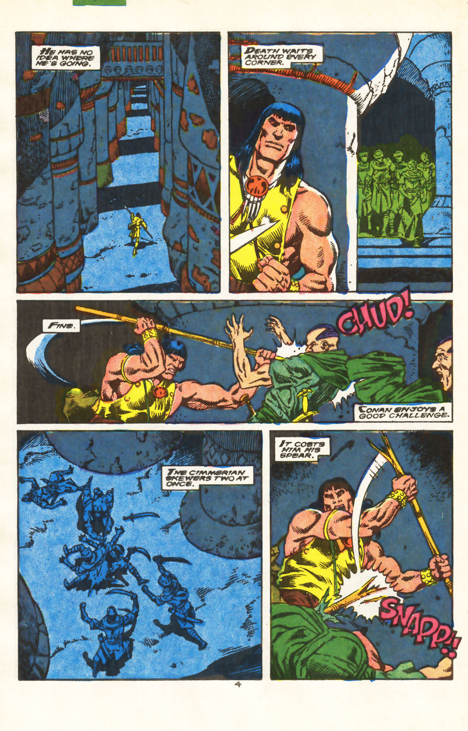 Conan the Barbarian (1970) Issue #213 #225 - English 5