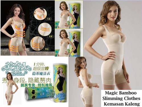 Natural Bamboo Kaleng Slimming Suit