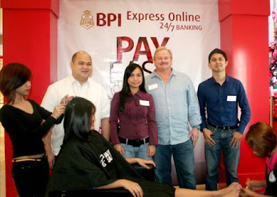 Pay Easy, Be Gorgeous with BPI and David's Salon's Tie-Up Promo