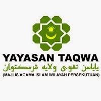 Jawatan Kerja Kosong Yayasan Taqwa Wilayah Persekutuan (MAIWP) logo www.ohjob.info