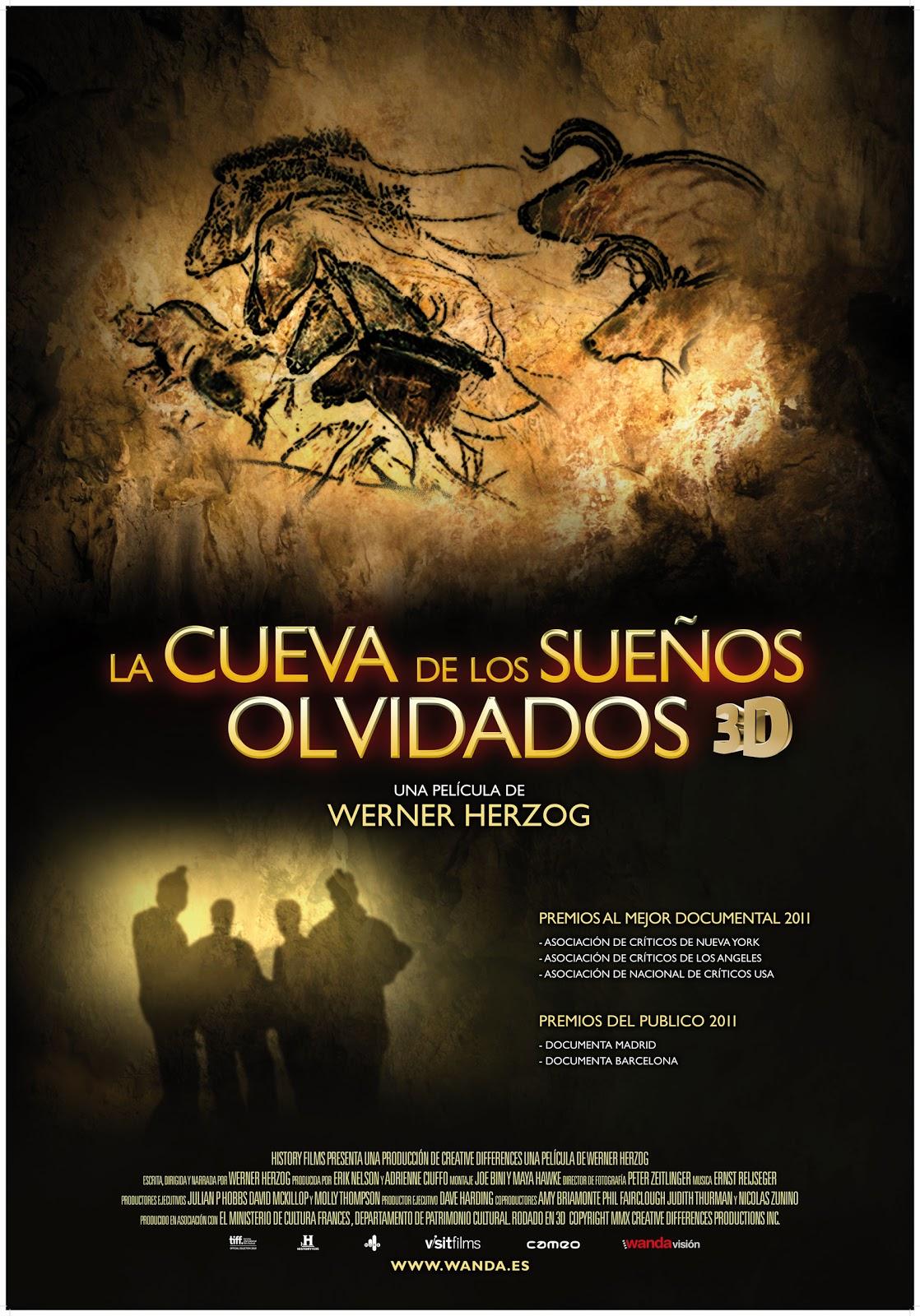 P ster y trailer de 39 la cueva de los sue os olvidados 39 este viernes en cines no es cine todo - La casa de los suenos olvidados ...
