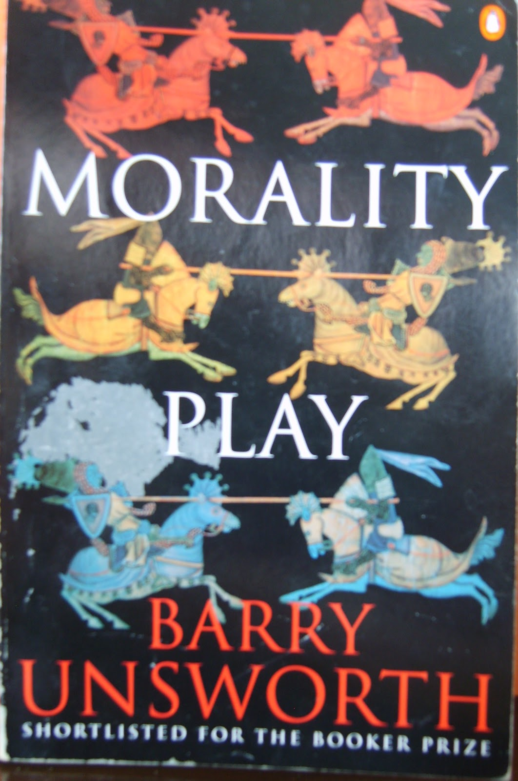 an analysis of vivid and descriptive passages in morality play by barry unsworth The progressive character of macbeth throughout the play we have evidence of macbeth's lively imagination soliloquy analysis.