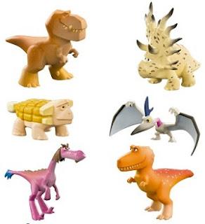 Figura O Bom Dinossauro com controle remoto Disney Arlo Sunny