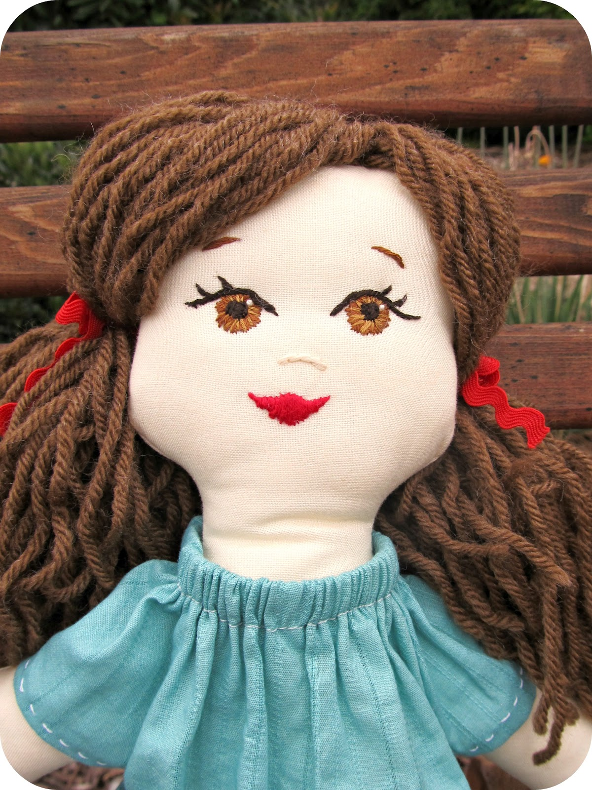 how to make rag doll hair
