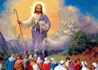 Resultado de imagem para Ao desembarcar, Jesus viu uma numerosa multidão e teve compaixão
