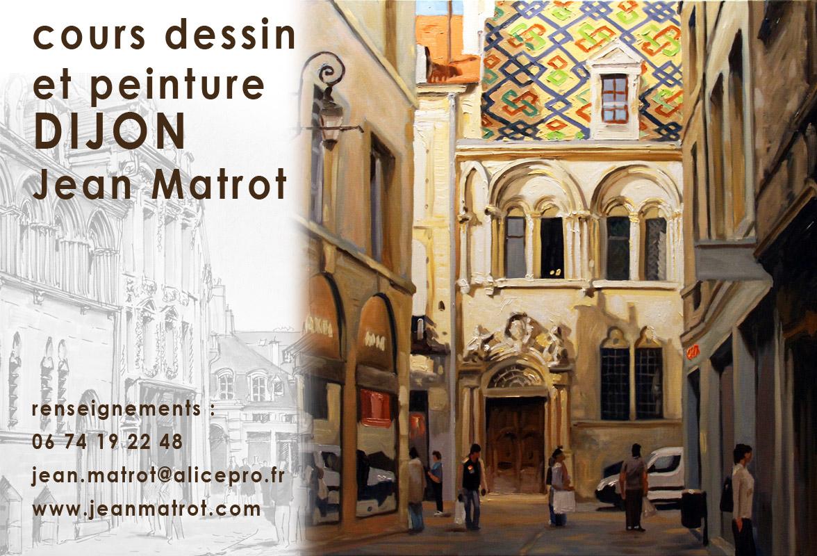 Jean matrot cours de dessin et peinture a dijon for Peinture isolante phonique dijon