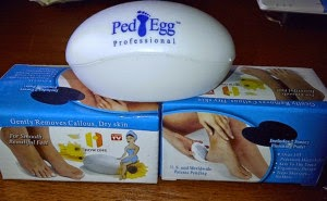 Perawatan Kulit Kaki dengan Ped Egg Profesional Alat Penghalus Telapak Kaki harga Murah