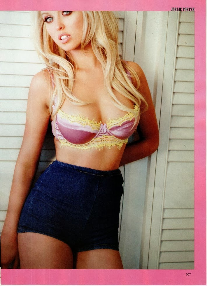 Jorgie Porter HQ Pictures FHM  Magazine Photoshoot March 2014