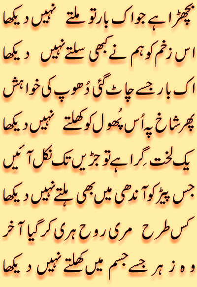 Dosti Urdu Ghazal Urdu Poetry Images Sms Dosti
