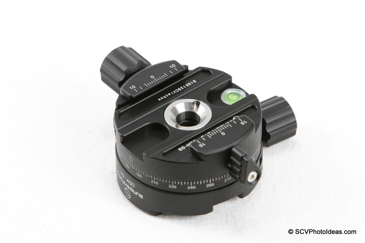 Sunwayfoto DDH-03 PC & DDY-58 QR assembly