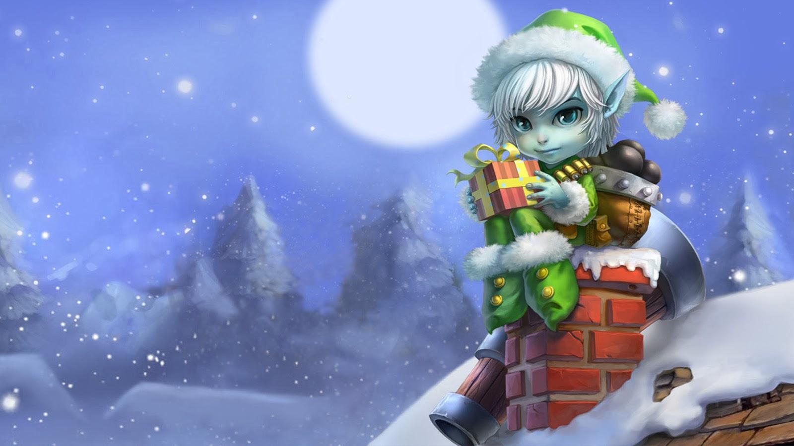 christmas elf wallpaper - photo #15