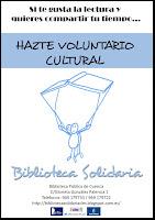 Díptico Biblioteca Solidaria