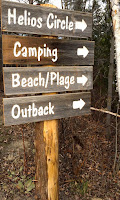 Directions to the beach, camping and other amenities