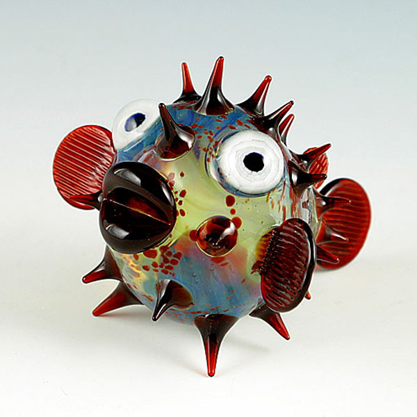 10-Pufferfish-Scott-Bisson-Glass-Sea-and-Land-Animals-www-designstack-co