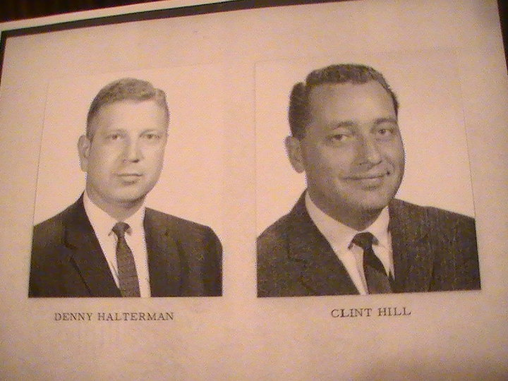 Clint Hill and Denny Halterman