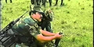 Video lucu kocak tentara Kolombia gagal luncurkan mortir