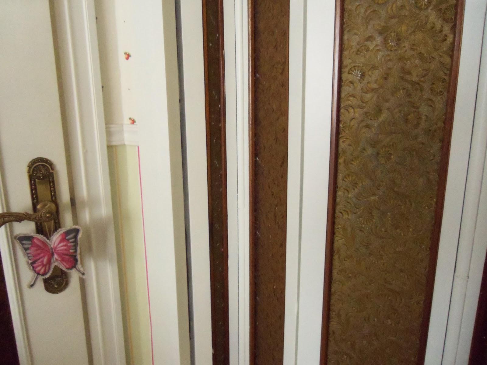 P xaros en la cabeza puerta corredera pintada for Como pintar una puerta