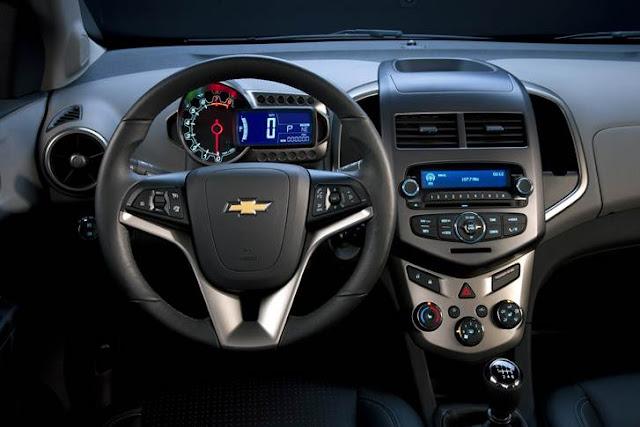 2016 Chevy Sonic Interior