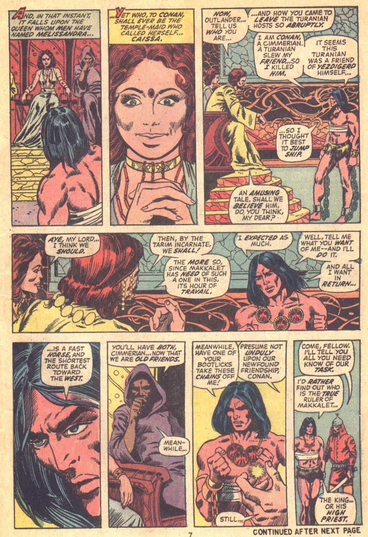 Conan the Barbarian (1970) Issue #21 #33 - English 7