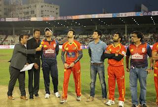 Indian Actor Actress Telugu Warriors Vs Bengal Tigers Match Pictures at CCL 5  5445.JPG