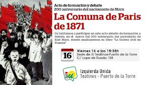 """Acto de formación y debate: """"La Comuna de París de 1871"""""""
