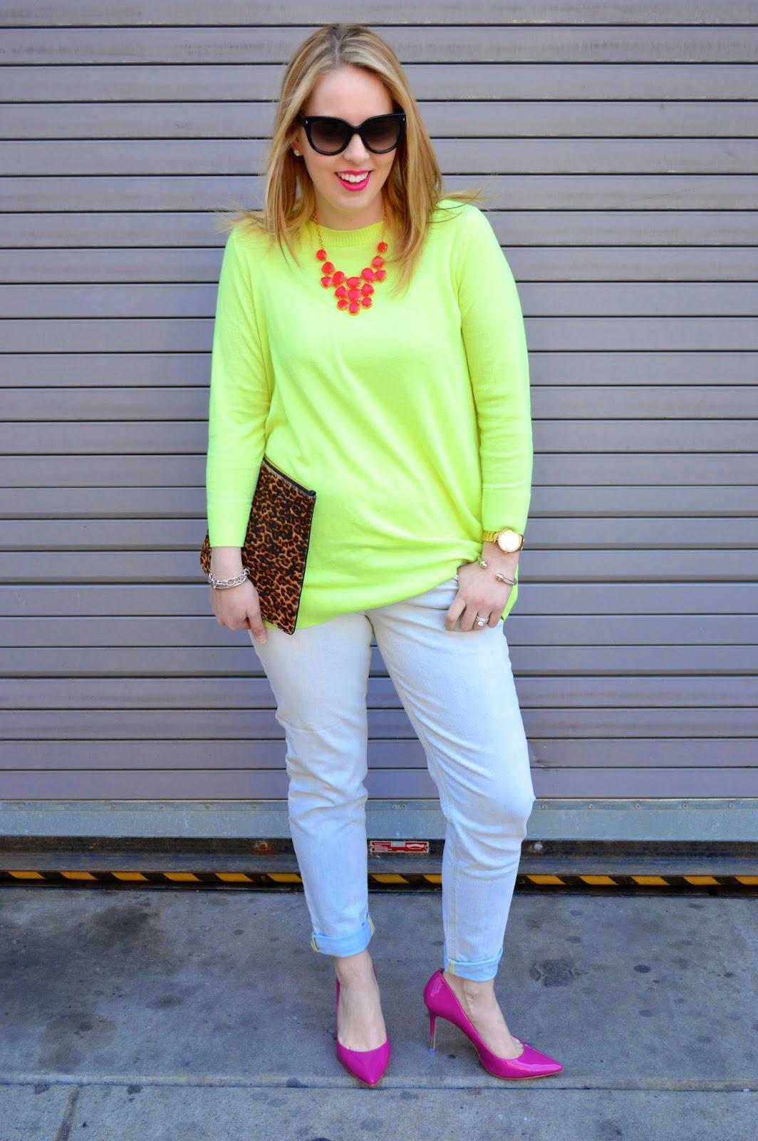 lime-green-J.Crew-sweater