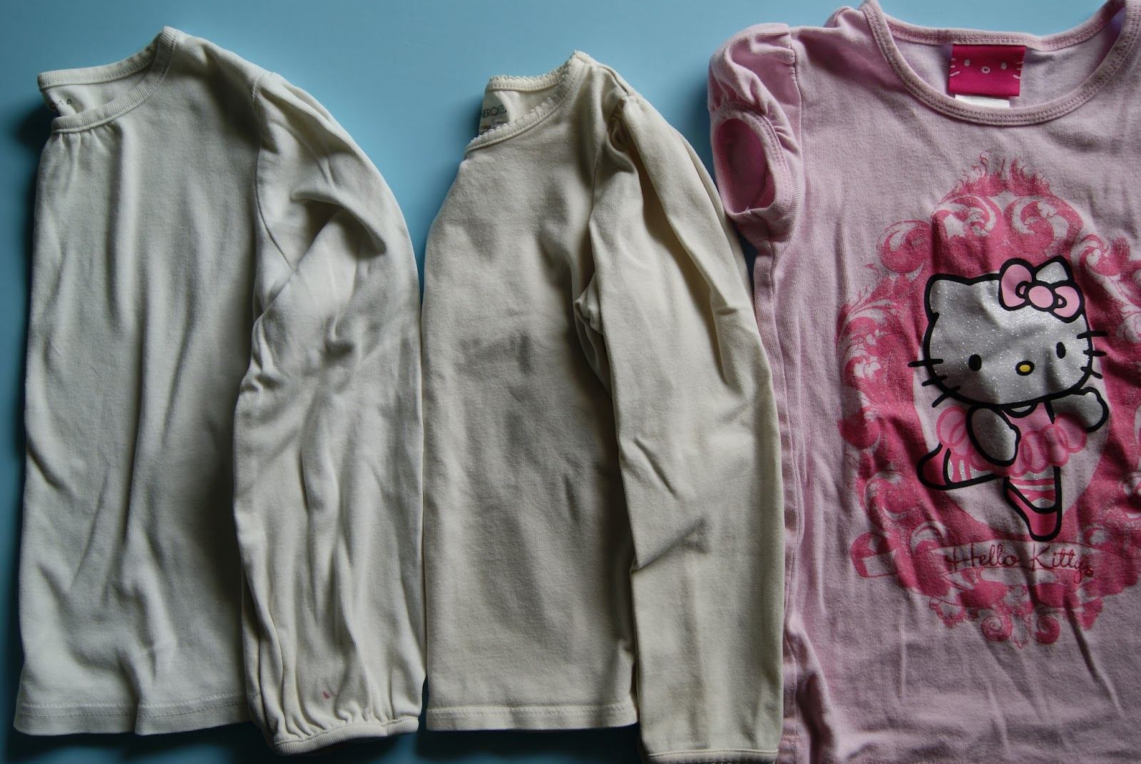 refashion month-old girl t-shirts