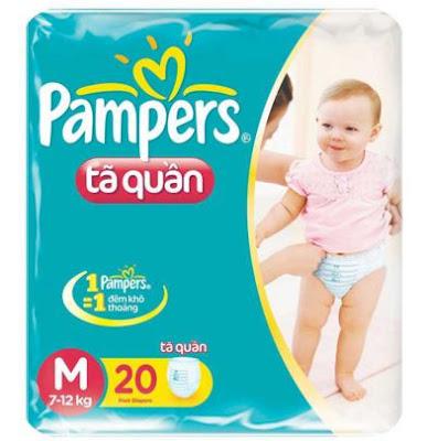 Có nên chọn quần bỉm Pampers ?