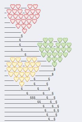 Globos corazones emoji facebook