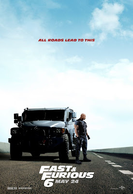 Dwayne Johnson Fast and Furious 6 Poster